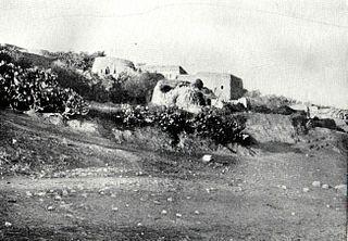 Indur Village in Nazareth, Mandatory Palestine