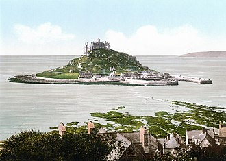 Ictis - St Michael's Mount, one of several candidates to be the island of Ictis