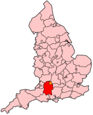 Fire Service Co-Responder - Map of Great Western Ambulance Service co-responders