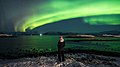 Enjoining the Northern Lights - Hofn, Iceland - Travel photography (40510105052).jpg