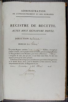 Acte sous seing priv en france wikip dia - Acte de propriete belgique ...