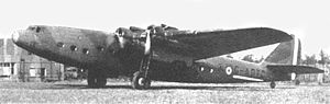 Armstrong Whitworth Ensign - AW.27 Ensign G-ADTC in typical 1940 markings