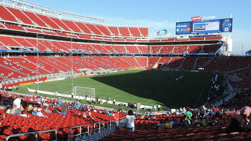 El Levi's Stadium de San Francisco, será el escenario del partido inaugural, el 3 de junio.
