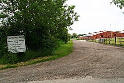 Entrance to North Ings Farm- Narrow Gauge Railway and Vintage Tractor Museum (geograph 3505543).jpg