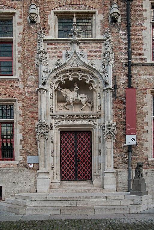 File entree van het huis van de heren van gruuthuse wikimedia commons - Deco entree in het huis ...