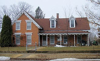 National Register of Historic Places listings in Mille Lacs County, Minnesota - Image: Ephraim Gile House 2