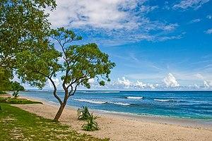 Efate - Eratap (beach), a small outer island of Efate.