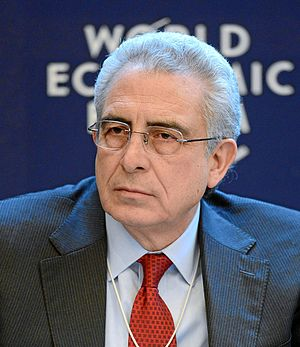 President of Mexico - Image: Ernesto Zedillo Ponce de Leon World Economic Forum 2013 crop