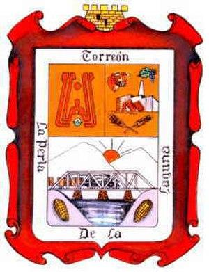 Torreón - Image: Escudo torreon