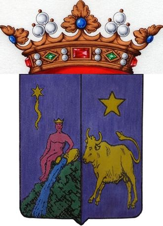Carlos Marfori y Callejas - Coat of arms of Carlos Marfori y Callejas, I Marquess of Loja