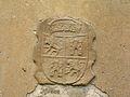 Escudo en el Monasterio Santa María la Real de Obona.JPG