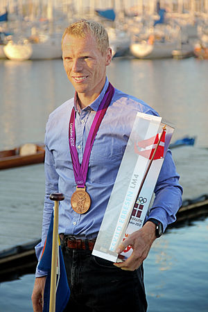 Denmark at the 2012 Summer Olympics - Five-time Olympian Eskild Ebbesen satisfied with his bronze medal in men's lightweight four.
