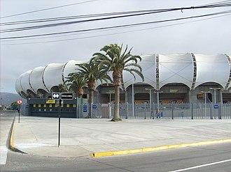 Estadio Municipal Francisco Sánchez Rumoroso - Image: Estadio Mundialista Francisco Sánchez Rumoroso