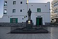 Estatua de Blas Cabrera Felipe frente a la UNED.jpg