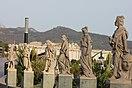 Estatuas en la plaza de la Constitución
