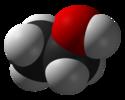 Model wypełniania przestrzeni etanolu