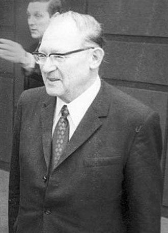 Eugen Kogon - Eugen Kogon in 1970