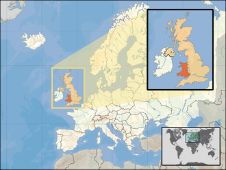 Outline of Wales - Image: Europe location WAL2