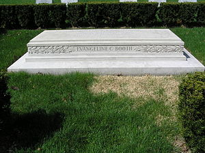 Evangeline Booth - The monument of Evangeline C. Booth