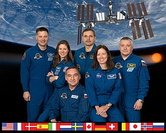 Expedition 24 - Image: Expedition 24 crew portrait
