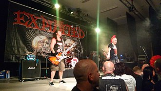 The Exploited - The Exploited performing in Vorselaar, Belgium in May 2018