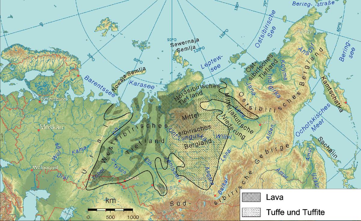 Sibirischer Trapp
