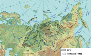 Siberian Traps A large region of volcanic rock in Russia