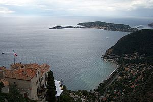 Cap Ferrat - View from Èze to Cap Ferrat