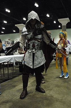 Cosplay de Ezio Auditore dans Assassin's Creed II