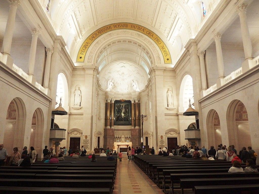 File Fatima Basilica De Nossa Senhora Do Rosario Interior 1