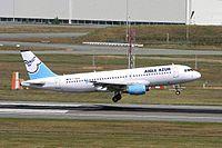 F-HBAO - A320 - Aigle Azur