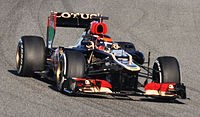 F1 2013 Jerez test-Lotus(cropped).jpg