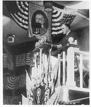 Sunrise at Campobello (play) - FDR nominating Al Smith at the 1924 Democratic National Convention (June 26, 1924)