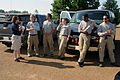 FEMA - 44031 - FEMA Public Information Officer with AmeriCorps Members at DRC.jpg