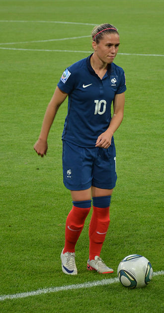 Camille Abily - Abily with France in 2011
