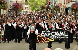 Bagad Cap Caval - Bagad Cap Caval in Festival interceltique de Lorient 2009