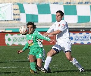 Stefan Giglio - Stefan Giglio in action for Valletta.