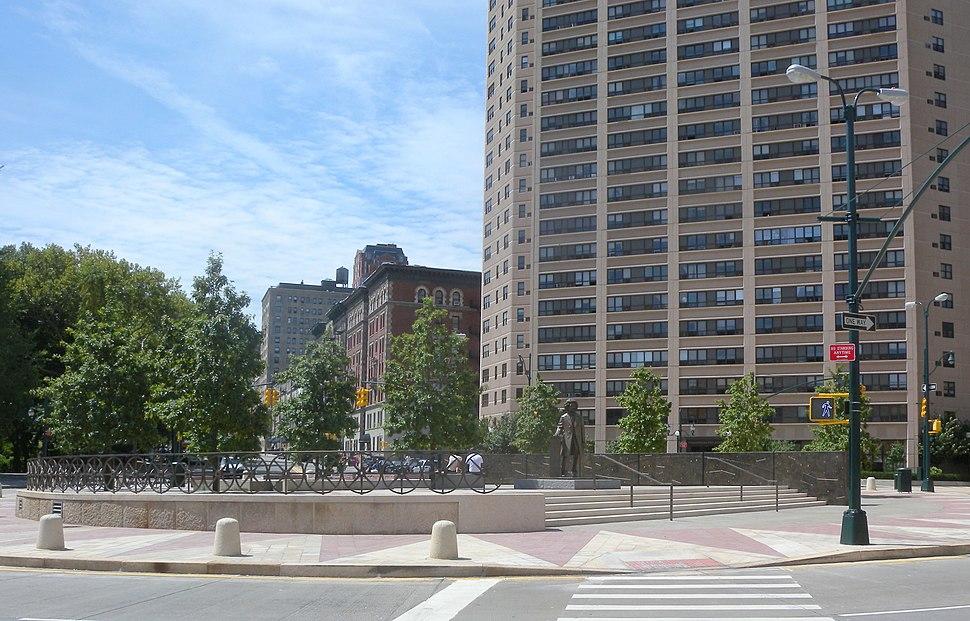 F Douglass Circle sunny jeh