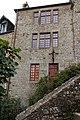 Façade est du Vieux logis (Le Mont-Saint-Michel, Manche, France).jpg