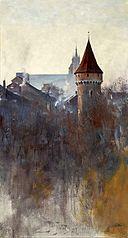 Kraków in the morning.