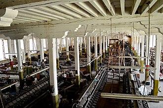 Uruapan - The Fábrica de Textiles de San Pedro, a late 19th century textile factory.
