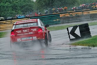 Croft Circuit - Fabrizio Giovanardi at the complex.