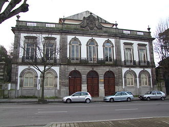 University of Porto - The seat of the Faculty of Fine Arts.