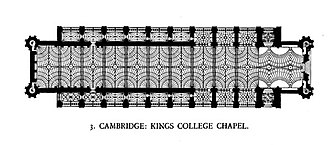 King's College Chapel, Cambridge - Image: Fan Vault Kings College Chapel