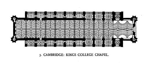 Fan vaulting diagram