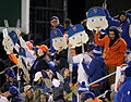Fans hold up Noah Syndergaard Fatheads (22415678628).jpg