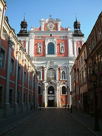 1701 in architecture - Image: Fara Poznan Fasada