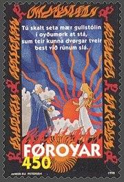 Faroe stamp 320 Brynhild & Buðli
