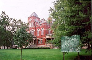 Fayette County courthouse in Fayetteville