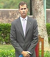 Felipe de Borbon, Crown Prince of Spain